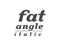 Fat Angle Italic