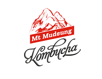 Mt Mudeung Kombucha Co., logo design