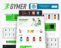 Gymer-Health & fitness medicine ecommerce html template