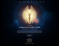 Spiritual Training & Natural Products Web Design