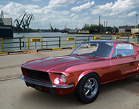 Ford Mustang GT-390 (1968) (3D)