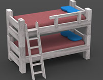 Bunk Bed- Reclaimed Wood