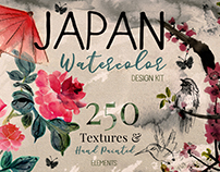 Japanese Flower art & Design Bundle