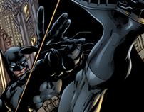 Estudos de cores - Batman