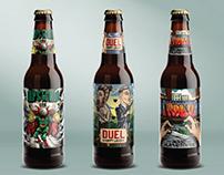 STOCKADE beer label design