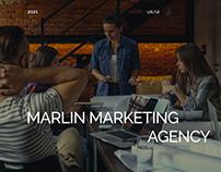 Marlin agency. Website