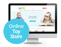 Online toy store.