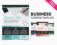 Free Business Flyer PSD Template
