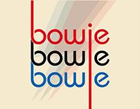 Bauhaus poster - David Bowie (Projeto Acadêmico)