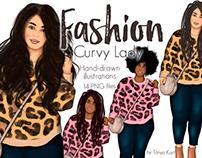 Fashion Curvy Lady
