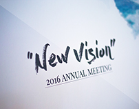 New Vision - Vincit 2016 Annual Meeting Design