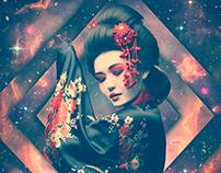 Amaterasu - Retro Futurism