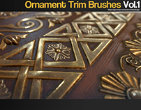 ZBrush - Ornament Trim Brushes Vol.1