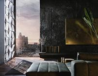 Black apartment l 73