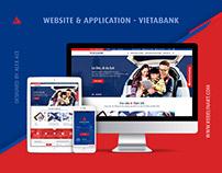 Redesign Web&App VietABank 2017
