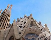 Sagrada Familia alphabet