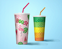 Boost Juice Cup I New Design
