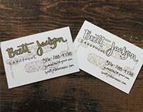 Musician Business Cards