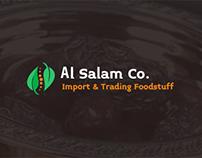 EL Salam Co. Website Design UI/UX