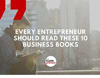 10 Books That Aspiring Entrepreneurs Should Read