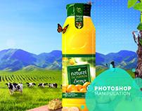 Photoshop Manipulation - Natural da Fazenda