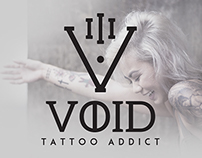 VOID // Tattoo Addict // Branding