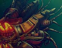 Illustratie 'Mechanical Lobster'