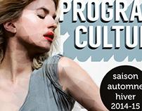 Programme Culturel 2014-2015
