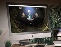Katya Tal - Website, UI/UX for doll artist
