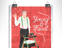 Young @ Heart | Film Poster Design