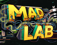 "Cover for YouTube channel ""Mad Lab"""