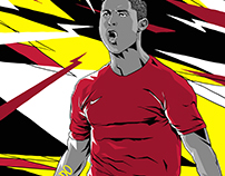 Ronaldo Illustration