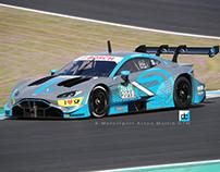 R-Motorsport Aston Martin Vantage DTM concept Livery