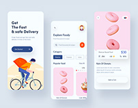 Food delivery IOS mobile app