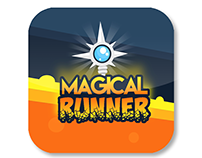"""Magical Runner"" iOS app icon"