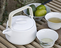 Nordic Teapot by VE2 for Skagerak