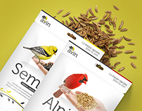 Avin - Bird Food - Packaging