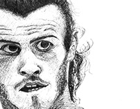 Gareth Bale Portrait
