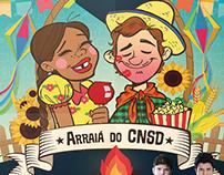 Arraiá do CNSD - 2017