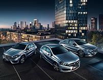 Mercedes Benz Poster Campaign