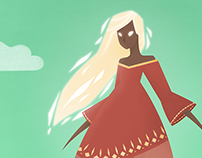 Journey inspired character design - ThatGameCompany