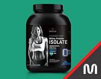 Sascha Fitness // Packaging