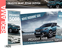 PEUGEOT BANNERS