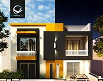 200 Sq.m. Modern House
