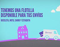 Promocional Skydrop para Expo Logistic & Summit