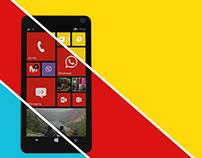 Lumia 955 advert