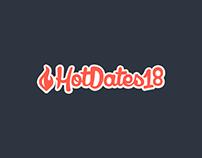 HotDates18 - Brand & UI Design