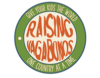 """Raising Vagabonds"" Rejected logo design"