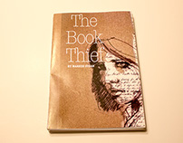 "Re-design of the ""The Book Thief"" by Markus Susak"