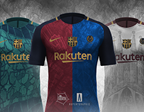 Fc Barca - City views Concept 2017/18